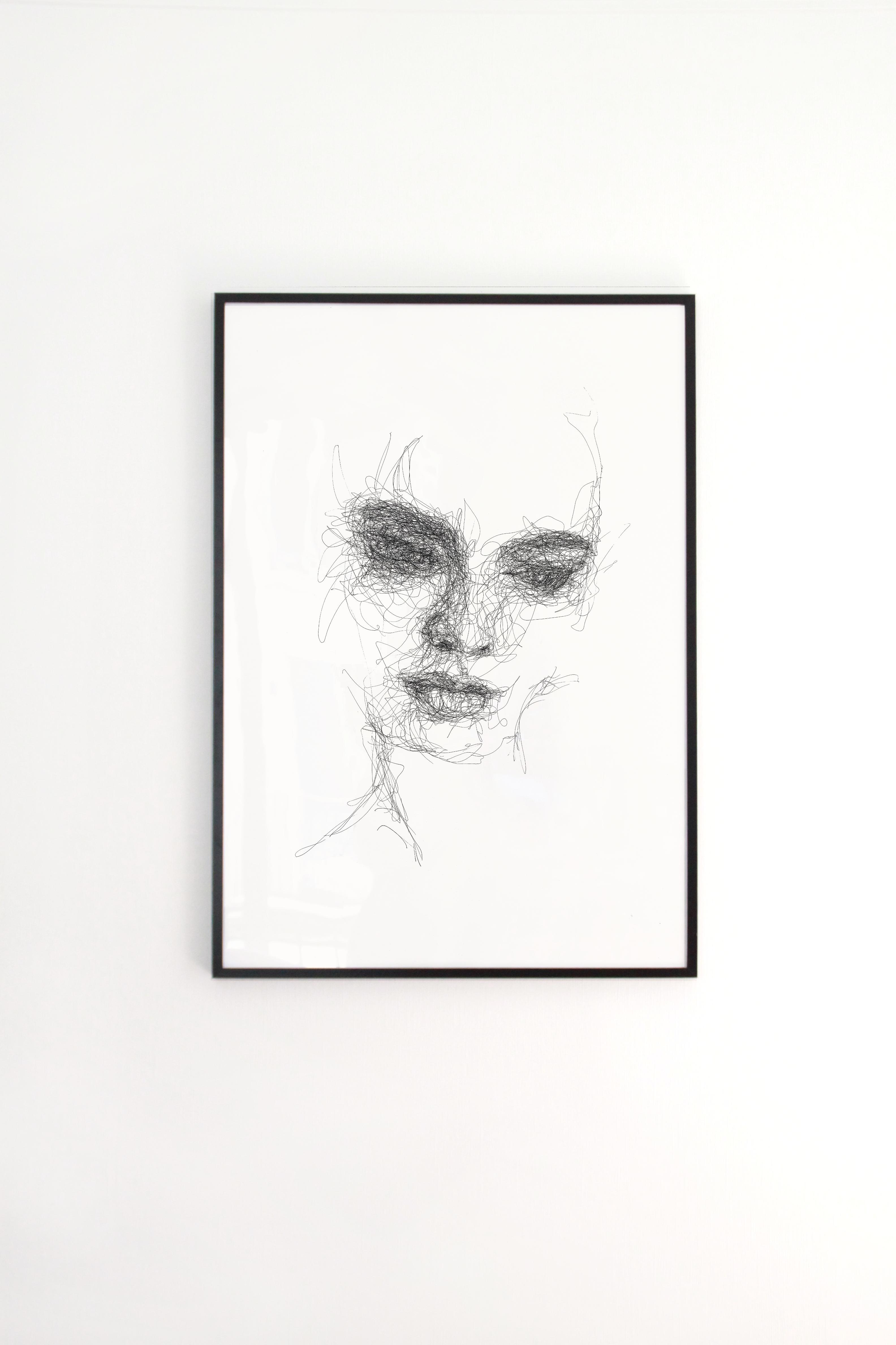 Scribble Face #21