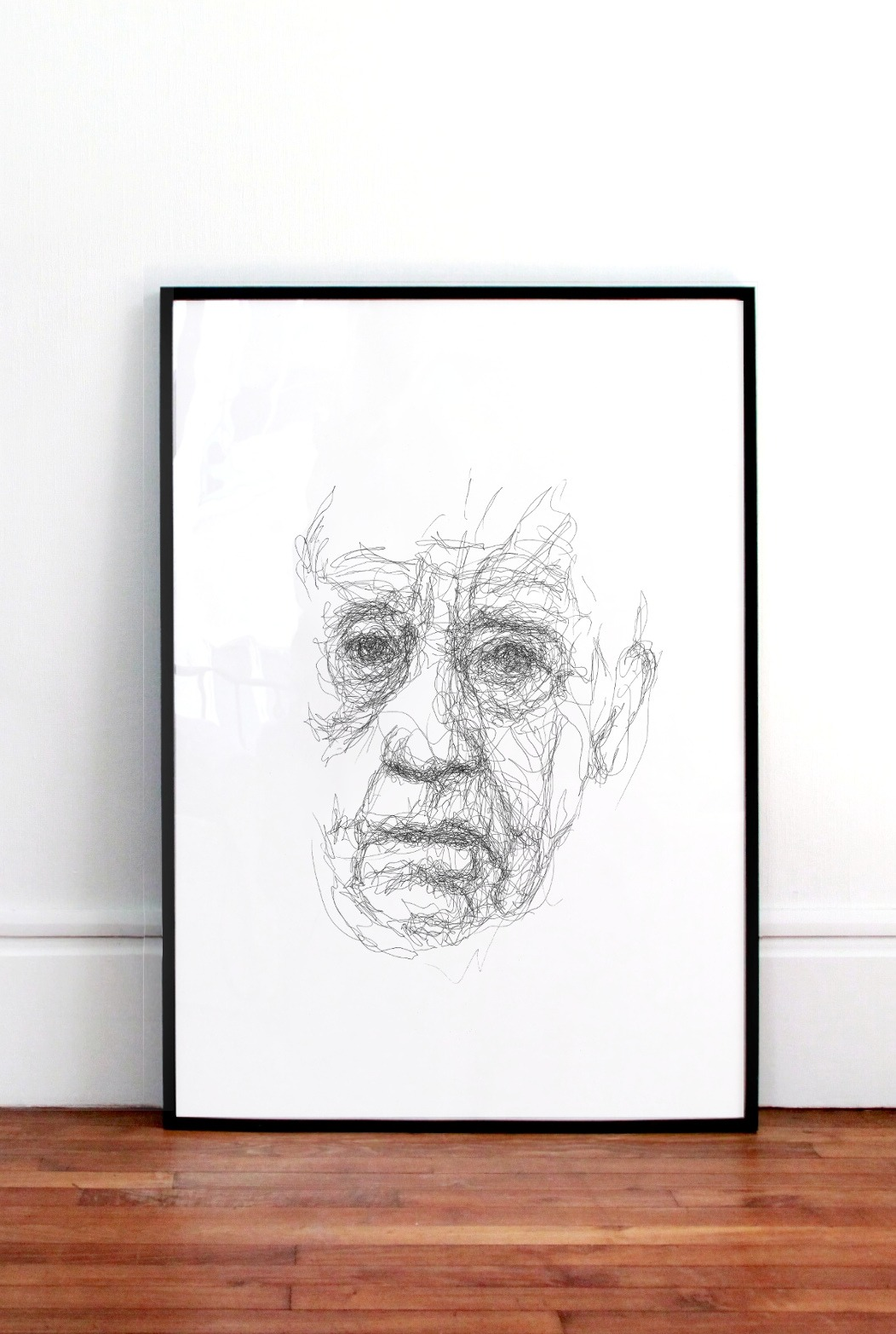 Scribble Face #24