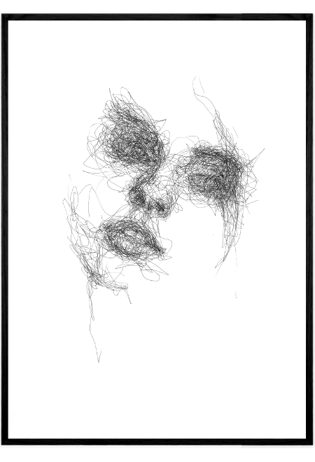Scribble Face #15