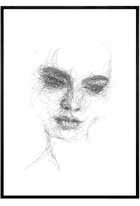 Scribble Face #21