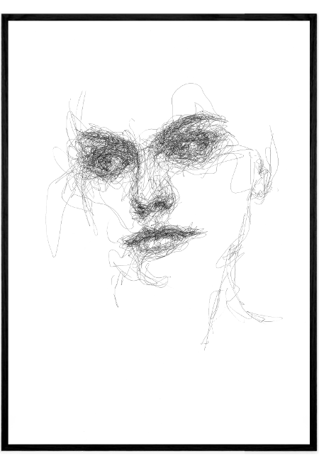 Scribble Face #28