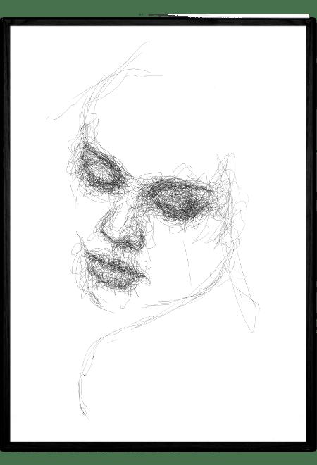 Scribble Face #31