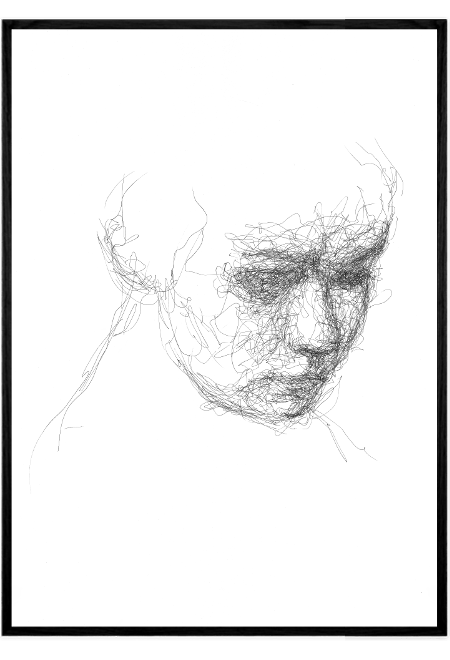 Scribble Face #1