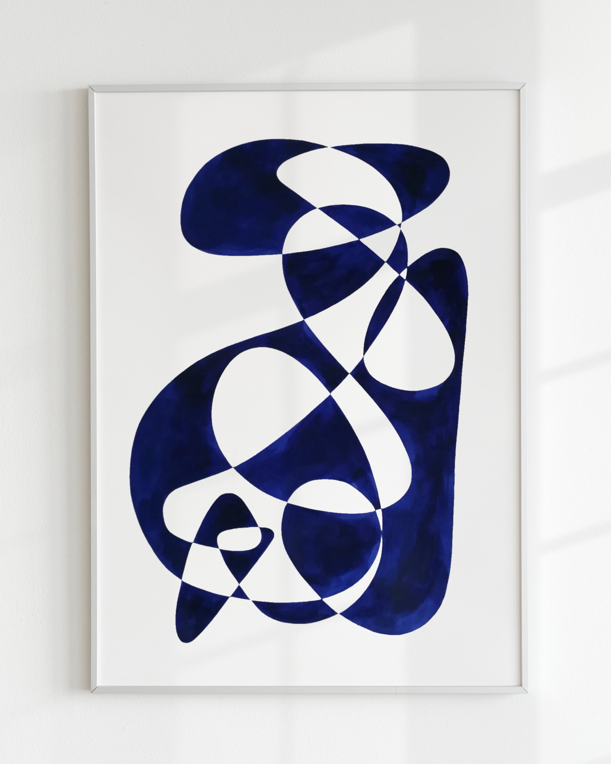 SHAPE STUDY – Bleu de prusse small III