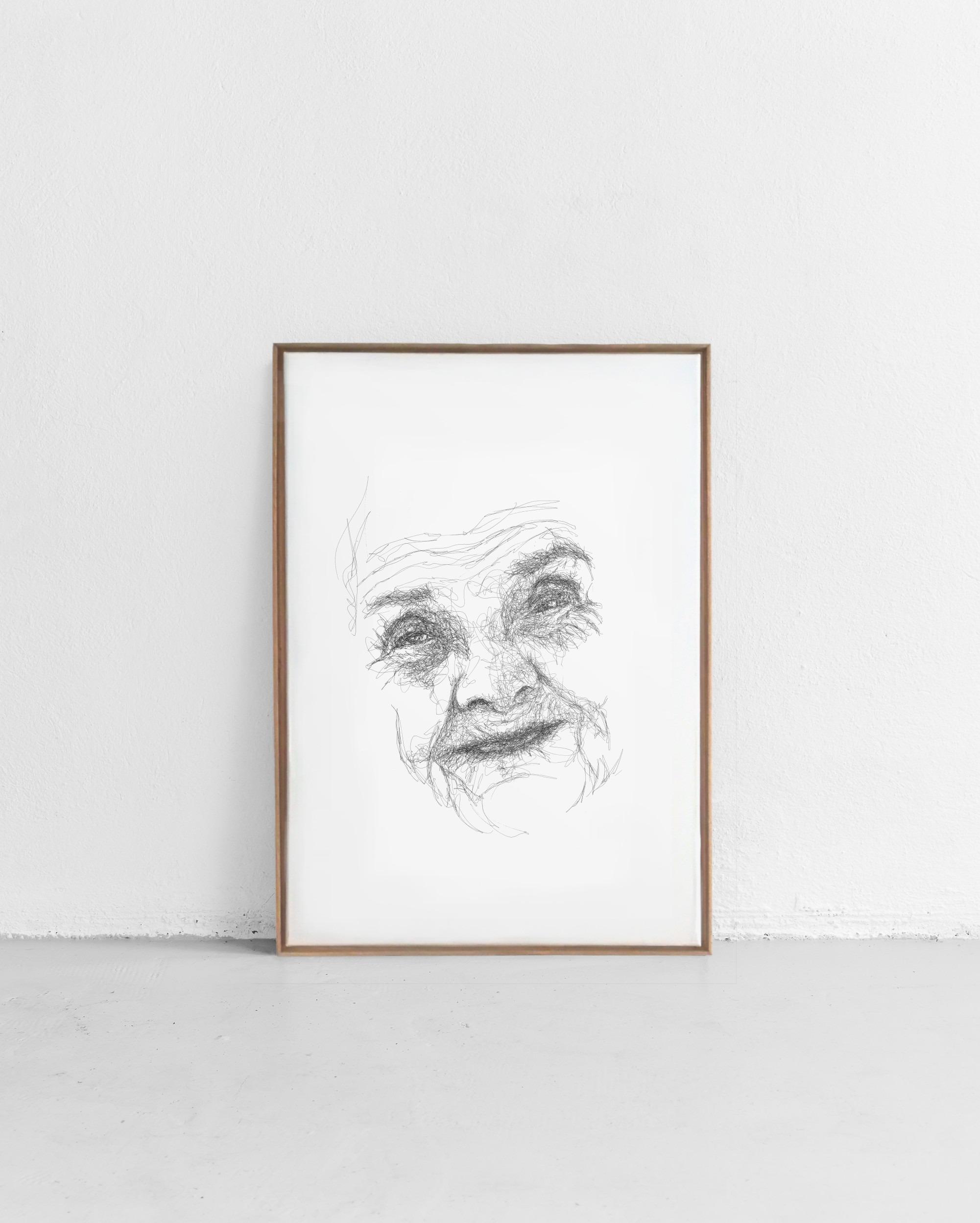Scribble Face #39