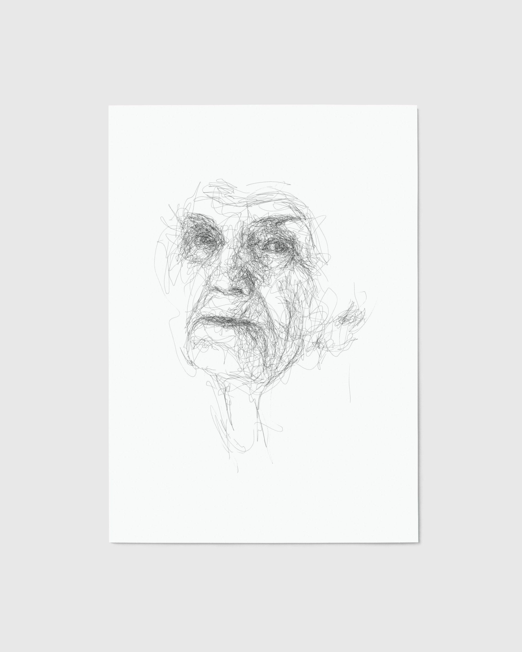 Scribble Face #29